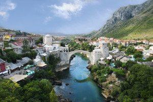 A linda cidade de Mostar