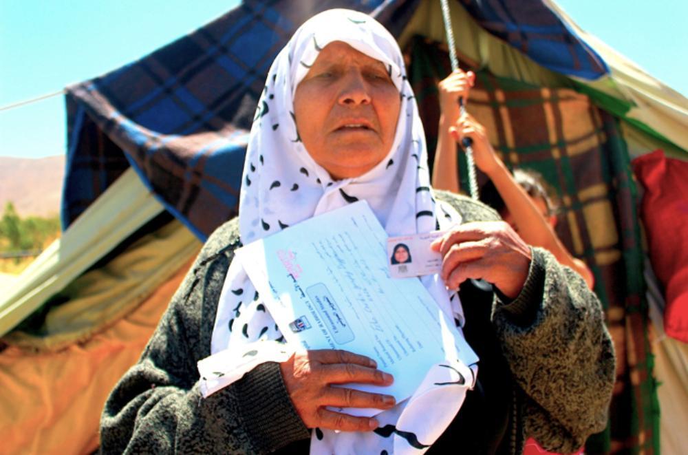 mulher síria